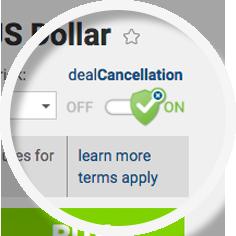 dealCancellation easyMarkets