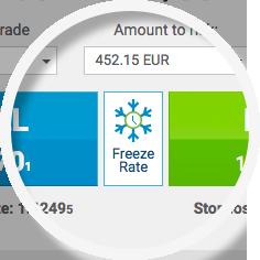 freeze rate easyMarkets