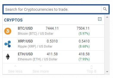 Ripple trading platform